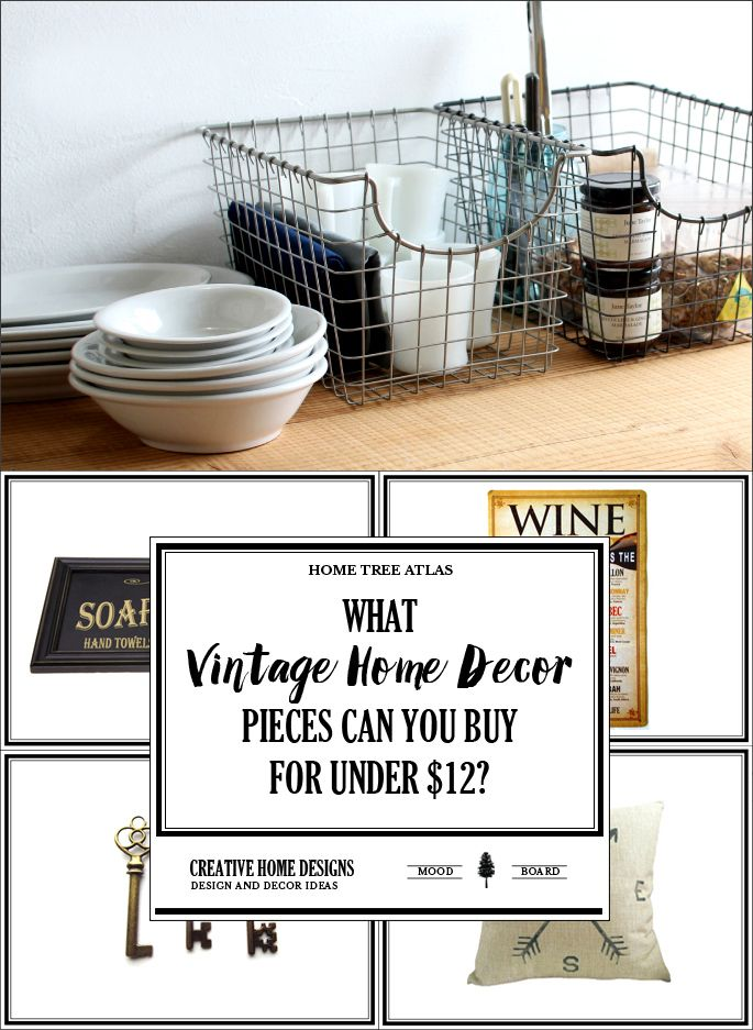 What Vintage Home Decor Pieces Can You Buy For Under $12   Vintage ...