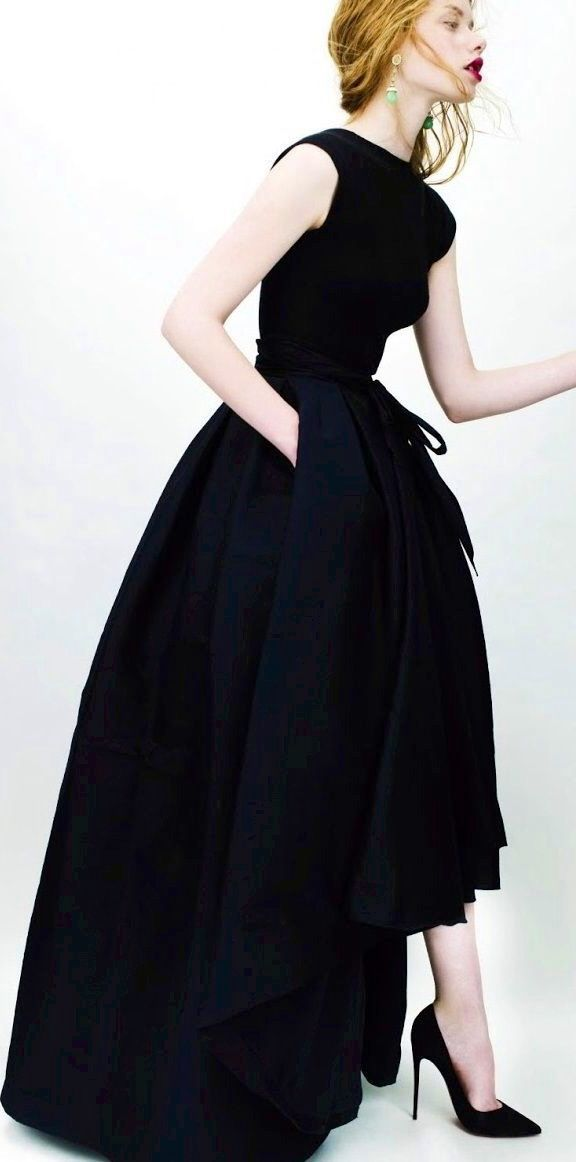 A Black Dior Gown Gowns Dresses Fashion Gowns