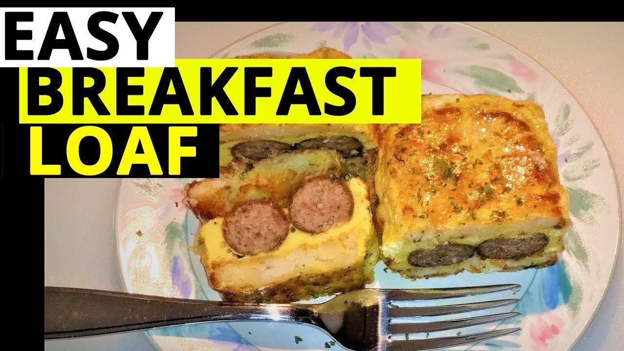Quick & Easy Breakfast Loaf in the Power Airfryer Oven