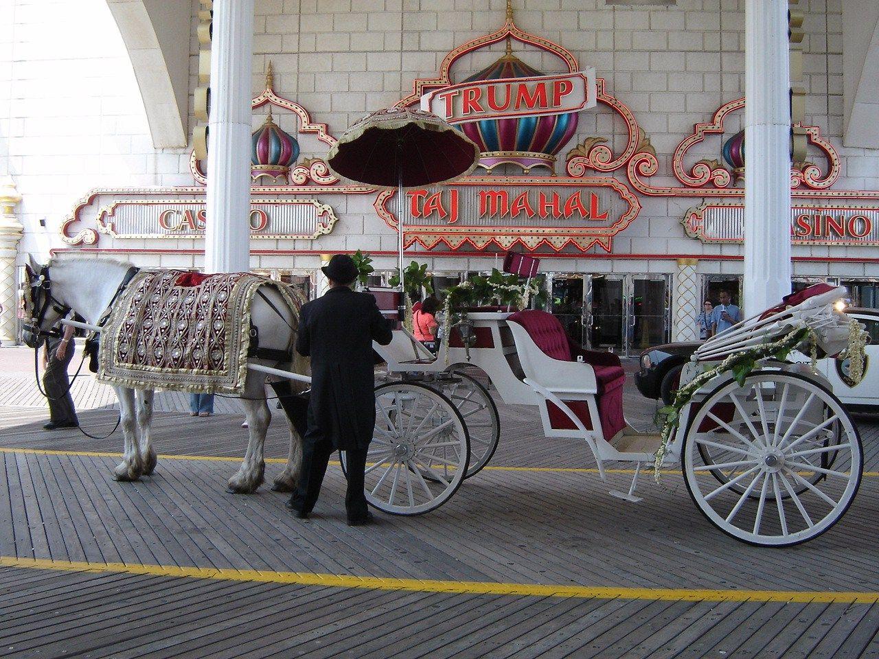Indian Wedding on the Boardwalk at Trump Taj Mahal