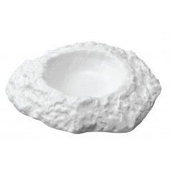 Part Number 370 Crater White Glass/Porcelain Dish Ware Collection Tristate Area ONLY #dishware Crater Dish Ware Collection from the Sublime Collections #dishware