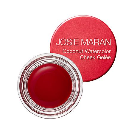 Josie Maran Coconut Watercolor Cheek Gelee In Poppy Paradise