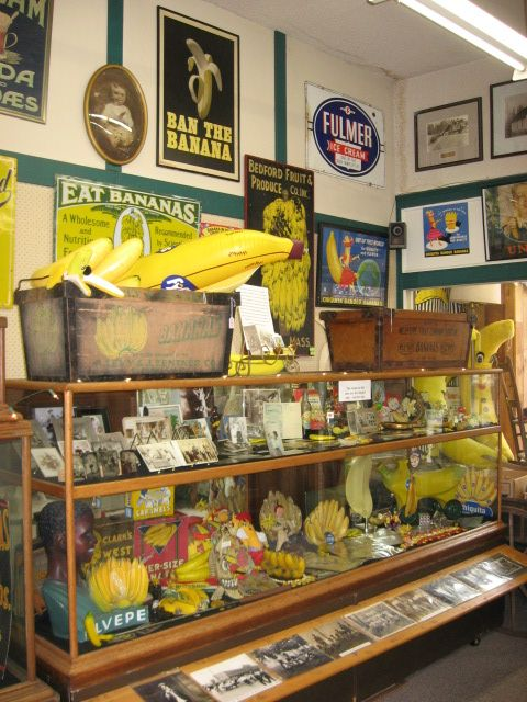 El museo del plátano/The Washington Banana Museum, Auburn, Washington
