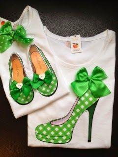 Love The Little Girl Shoes Camisetas Bordadas Confeccion De