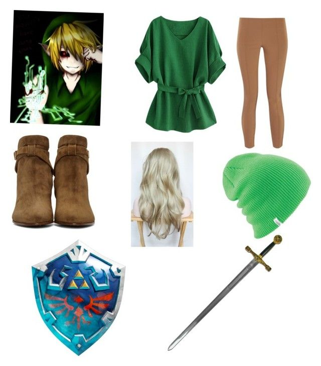 """Ben drowned outfit/cosplay"" by shelbysovde on Polyvore featuring The Row, Yves Saint Laurent and Coal"