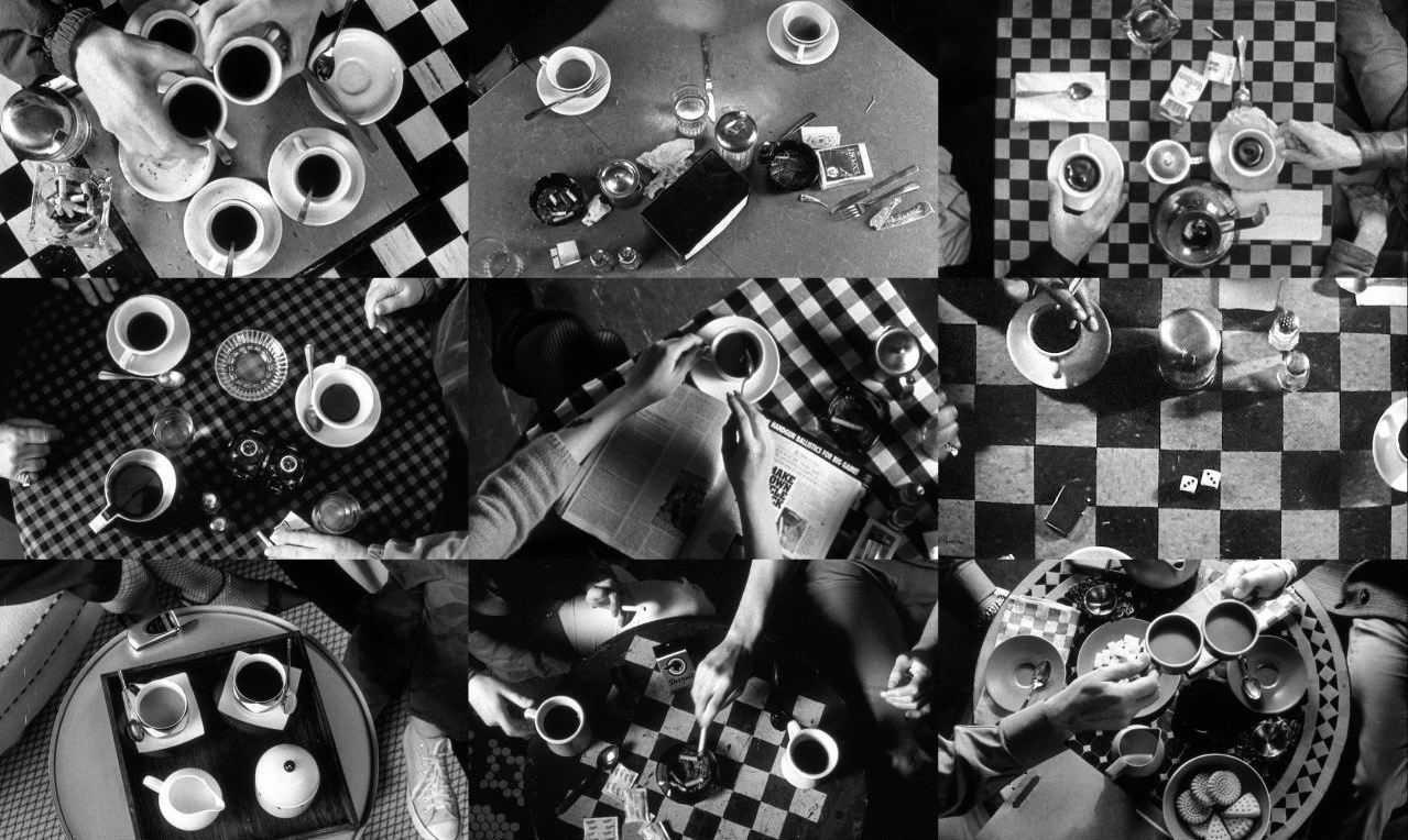 Coffee And Cigarettes A Film By Jim Jarmusch Coffee And Cigarettes Cigarettes Inspirational Movies