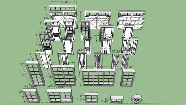 Window and Door Collection - 3D Warehouse