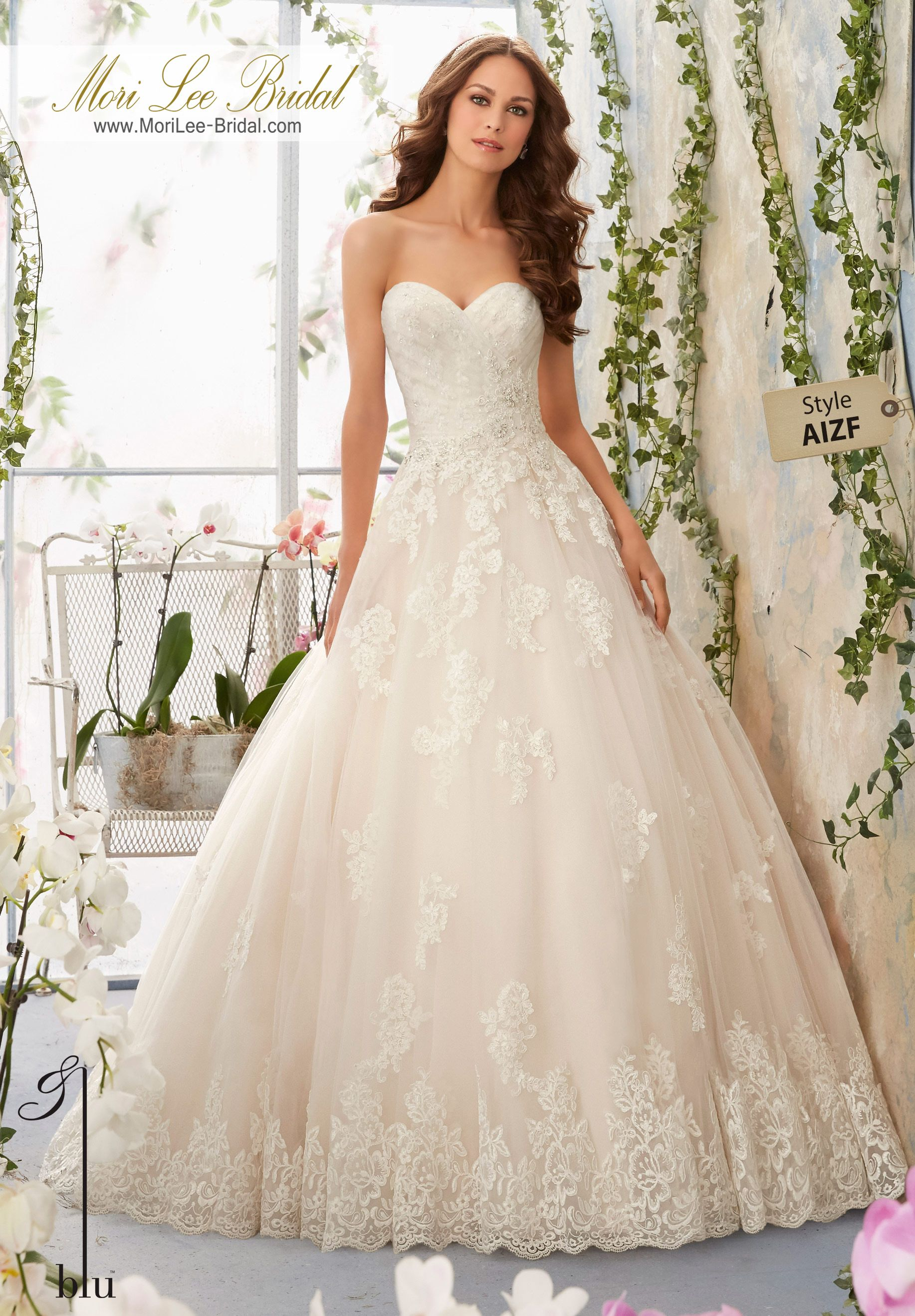 Dress style aizf alencon lace appliques with crystal beaded