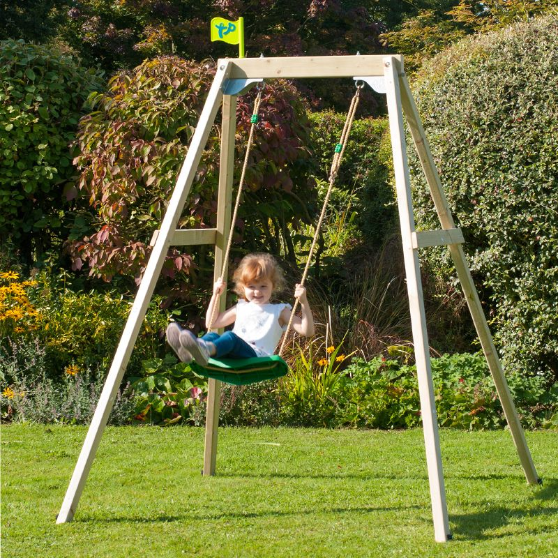 TP Forest Single Swing Frame Set with Seat - Dobbies Garden Centres ...