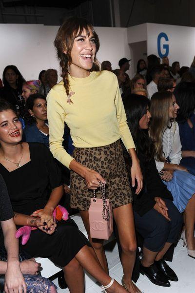Fashion Week Londres: Alexa Chung