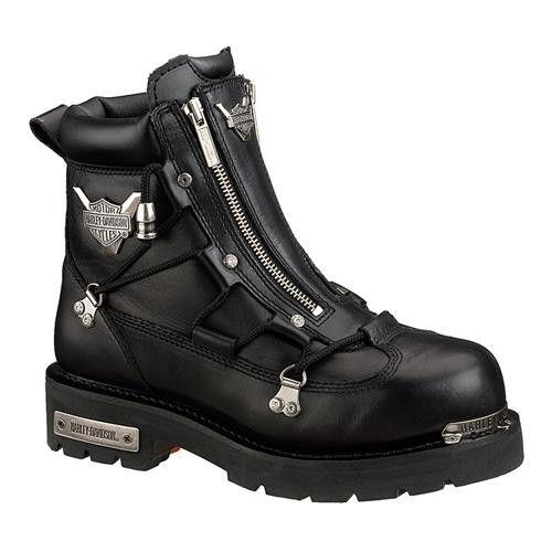Double Zipper Motorcycle Boot
