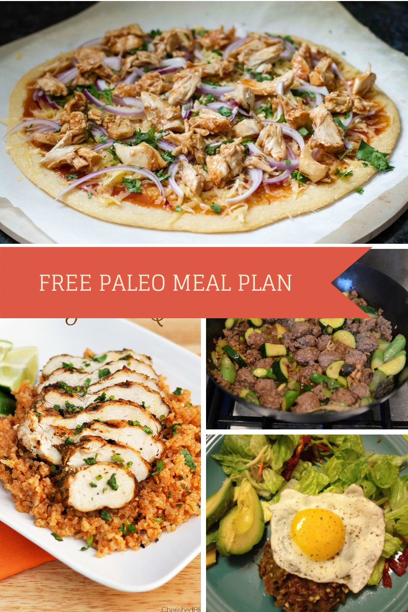 Free paleo diet meal plan barbecue chicken pizza diet meal plans free paleo diet meal plan recipe blogsgood forumfinder Choice Image