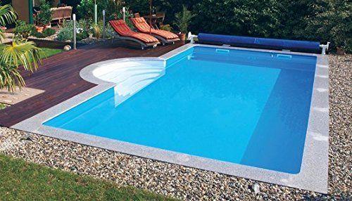 super Pool für den Garten! Schwimmbecken! Steinbach Massivpool, blau ...