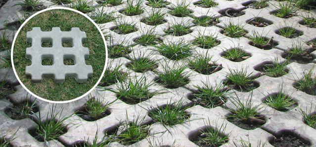 Adoquin ecol gico ideas jardines pinterest adoquines for Adoquin para estacionamiento