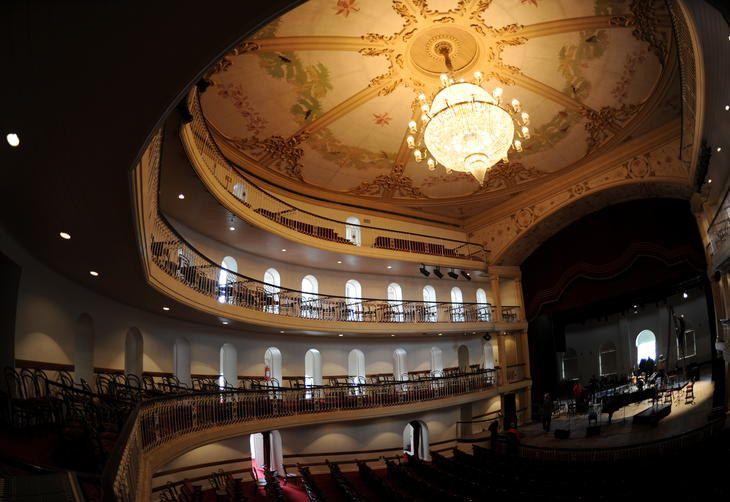 Interior do Teatro São Pedro - Porto Alegre-RS-Brasil