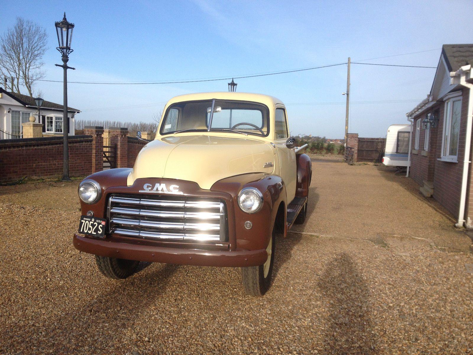 Fully Restored 1950 GMC Pickup eBay Gmc, Classic trucks