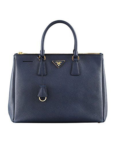 bd1a88b3327a Prada Women s Tote Bag Saffiano Leather in Baltic Blue Style 2274 Prada  http