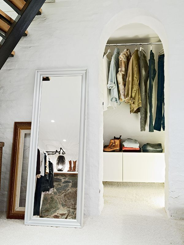 See More Images From How To Cope With A Doorless Closet On Domino.com