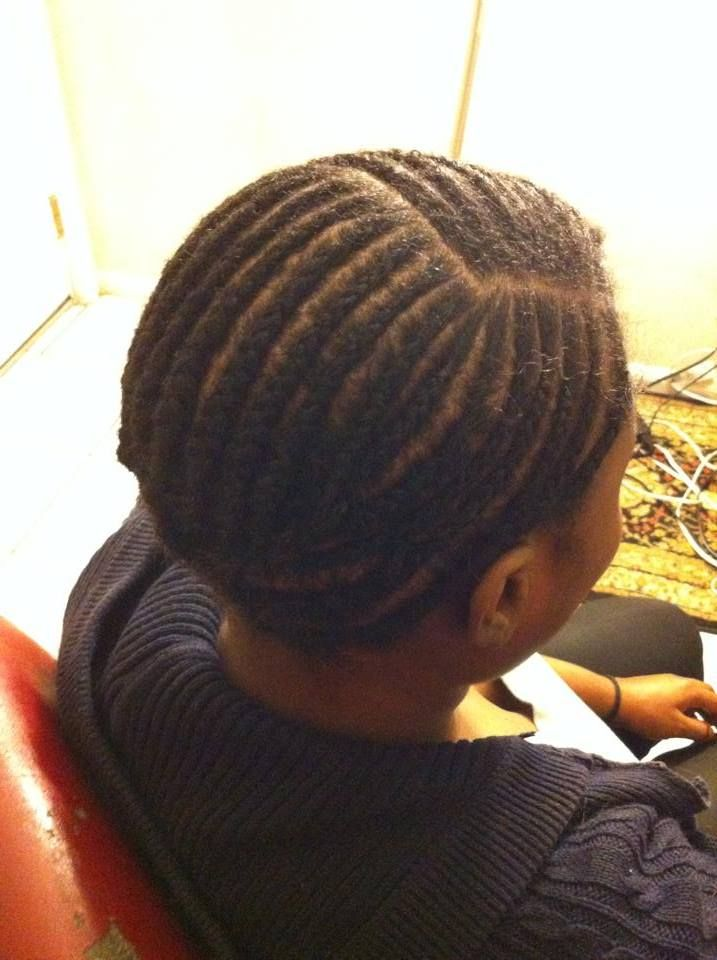 The Proper Braid Pattern For A Side Part Closure Install Sew In