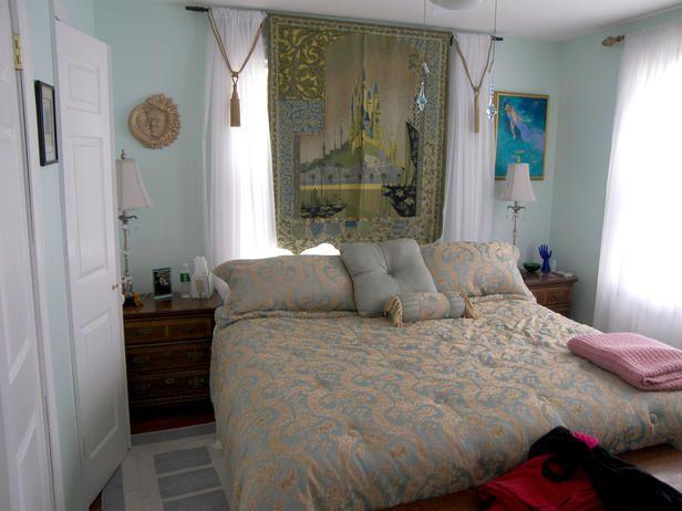 Before Pale Blue Bedroom Feng Shui Inspired Beforeand