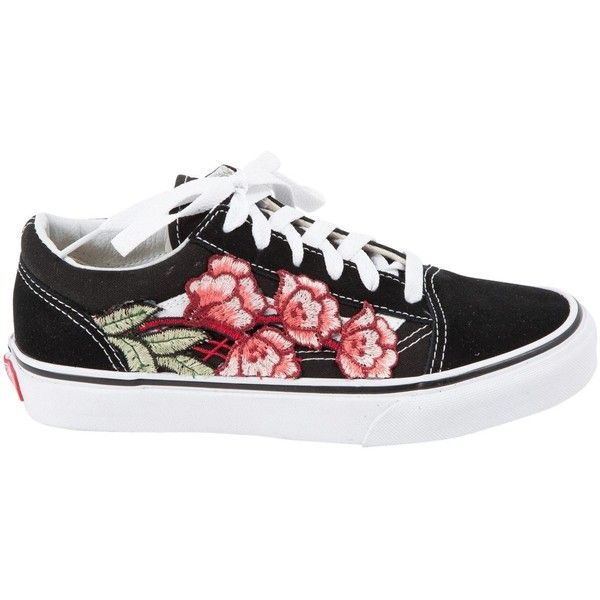 f6499c29c2b Pre-owned Vans Cloth Trainers ( 229) ❤ liked on Polyvore featuring shoes