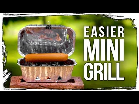Mini Homemade Bbq Grill Tutorial This