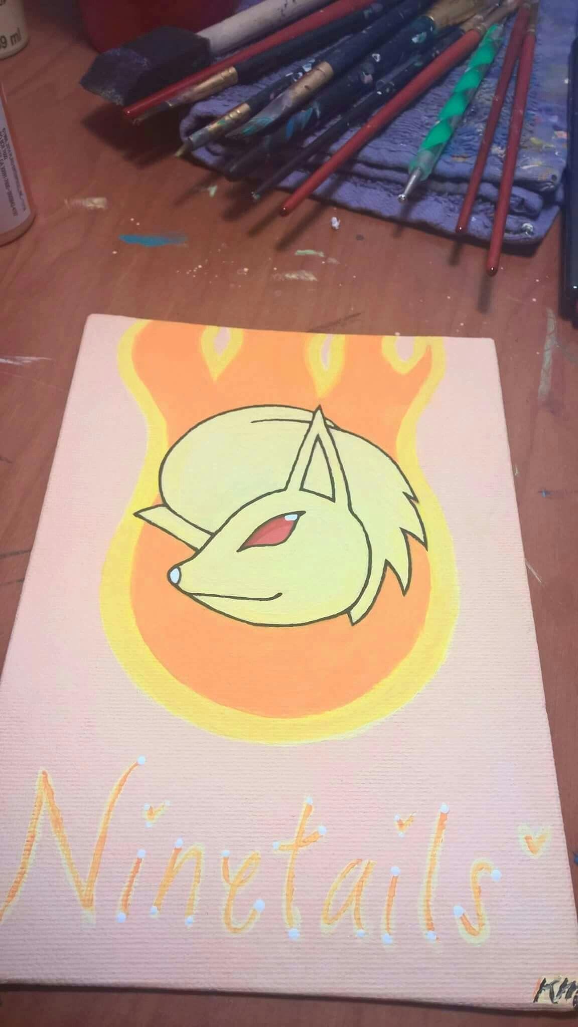 My #Ninetails from #nintendo #pokemonshuffle #Pokemon #painting for ...