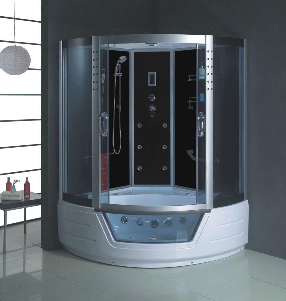 bathtubs and showers   corner-shower-doors-glass-bathtub-and-shower ...