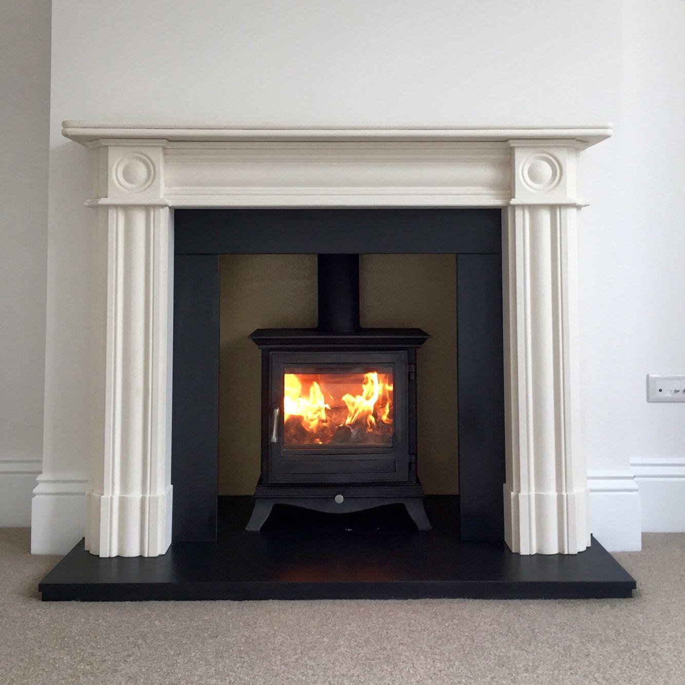 Victorian Fireplace Woodburner