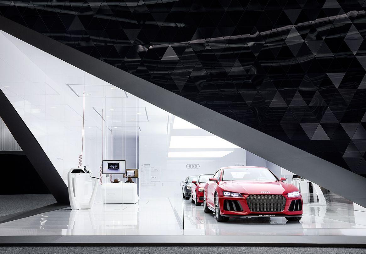 secret lab audi ces booth 2014 exhibition stand design automobile exhibition hall exhibition booth design pinterest