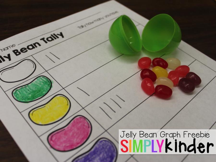 Jelly Bean Worksheets Kindergarten