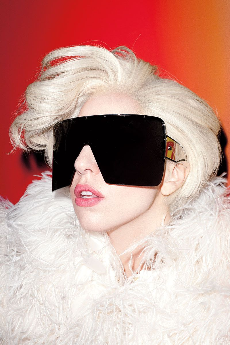 Lady Gaga for Harper's Bazaar Feb 2014