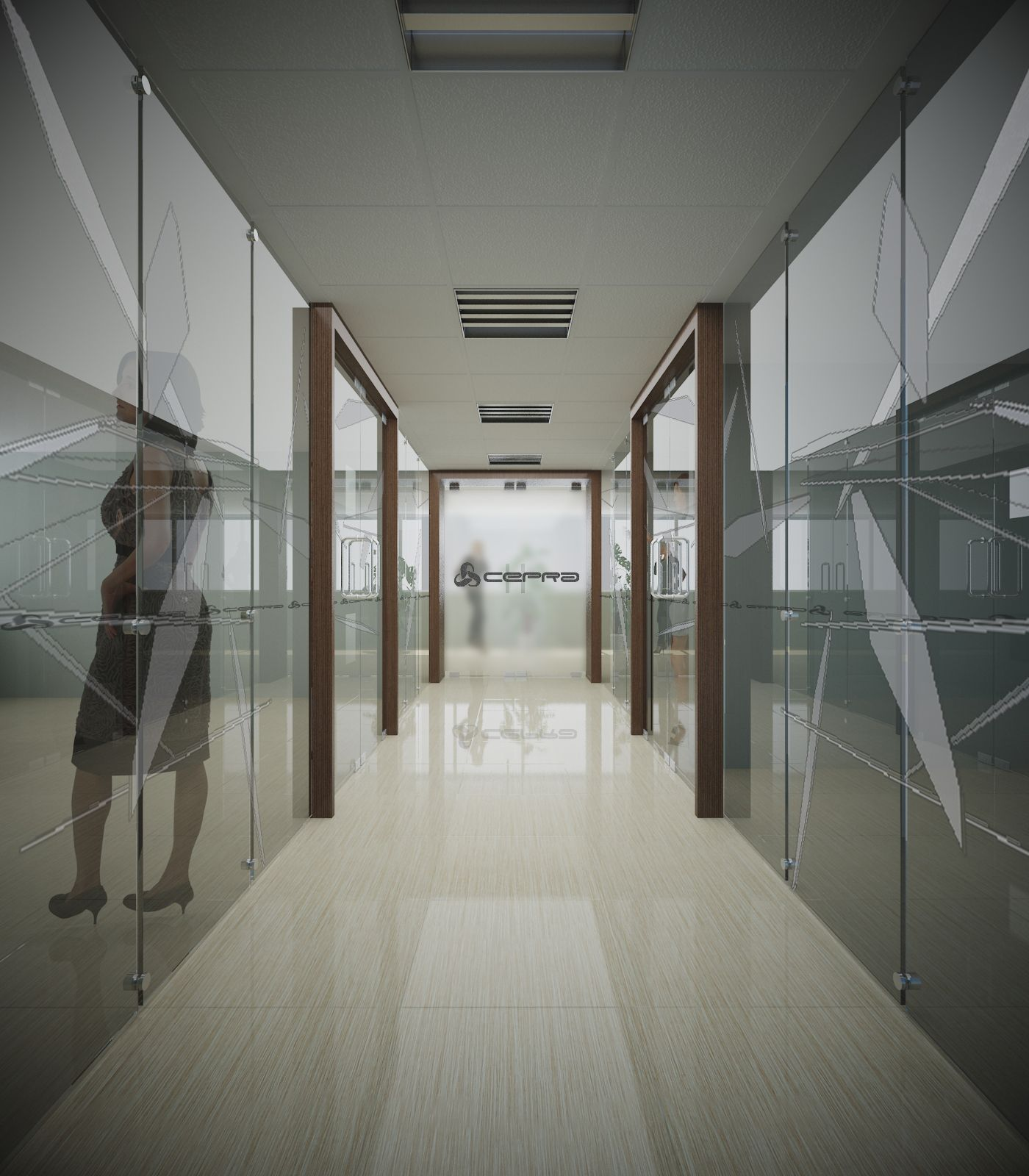 Un dise o para imagen corporativa zona de ejecutivos y for Diseno de interiores salas
