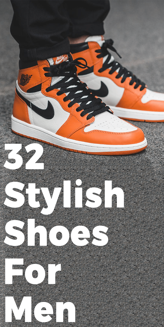 Stylish shoes for men, Types of