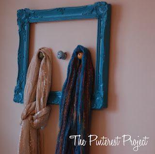 Frame + Knobs for scarves