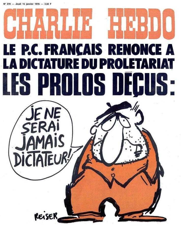 Les 50+ meilleures images de Charlie Hebdo 1976 | charlie hebdo, satirique,  liberté de la presse
