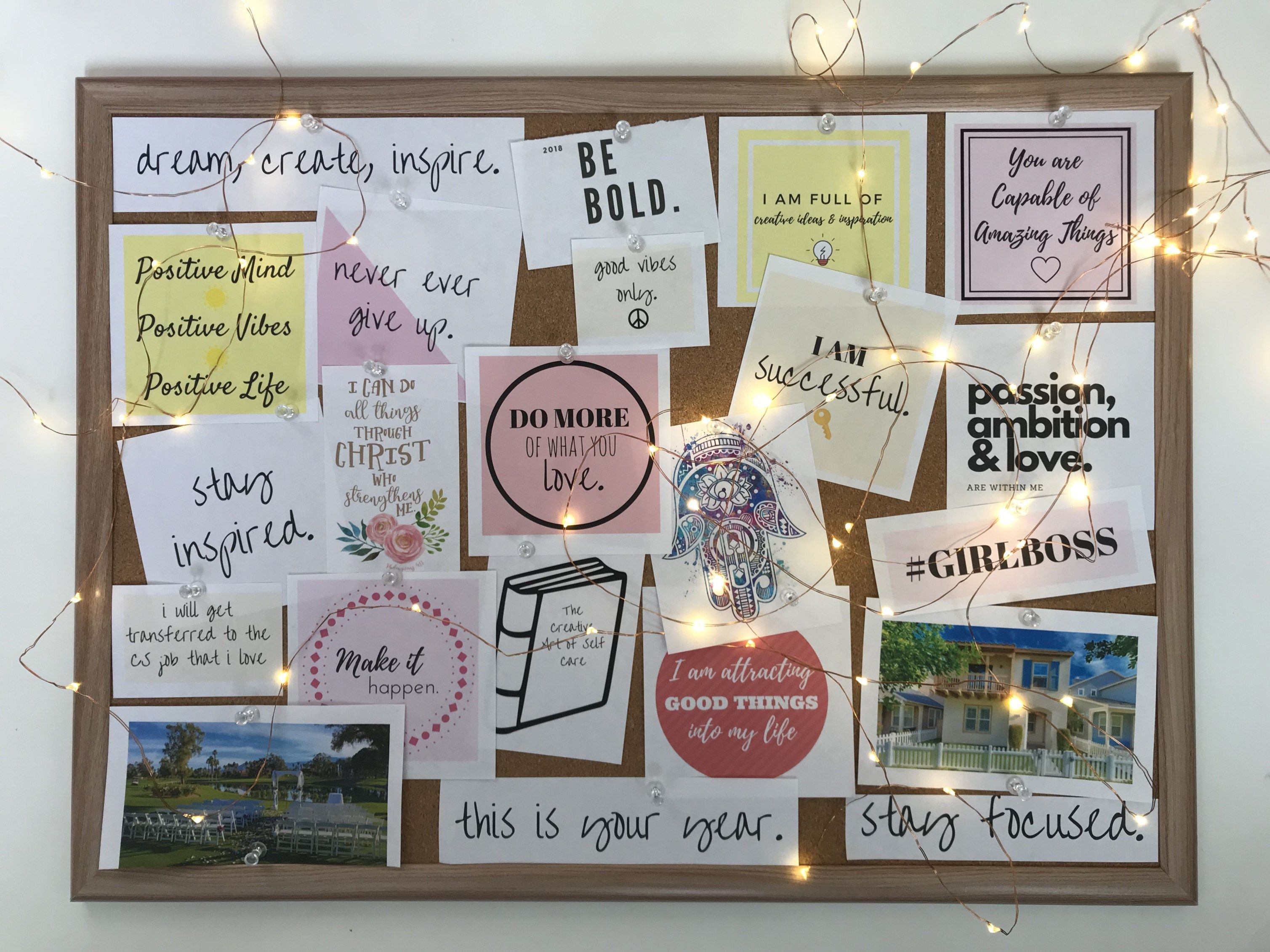 How to Create a Vision Board With Intention \u0026 Purpose + FREE