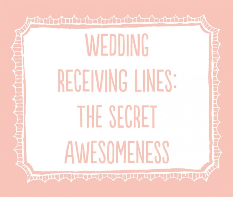 An Article About Wedding Receiving Lines By Wedding Photographer