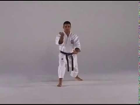 6th Kata Empi Karate Martial Arts Karate Shotokan Karate Kata