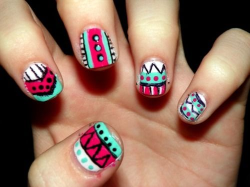 Tribal nail art tumblr gallery nail art and nail design ideas tribal nail art tumblr image collections nail art and nail tribal nail art tumblr choice image prinsesfo Gallery
