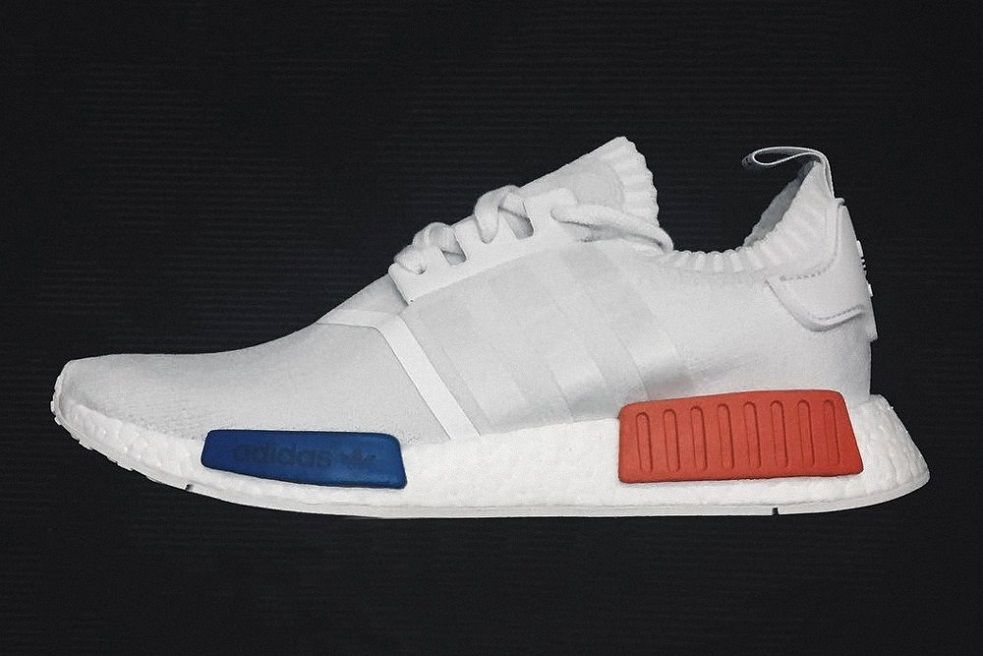 The adidas Originals NMD Goes All White | Wonderful tread