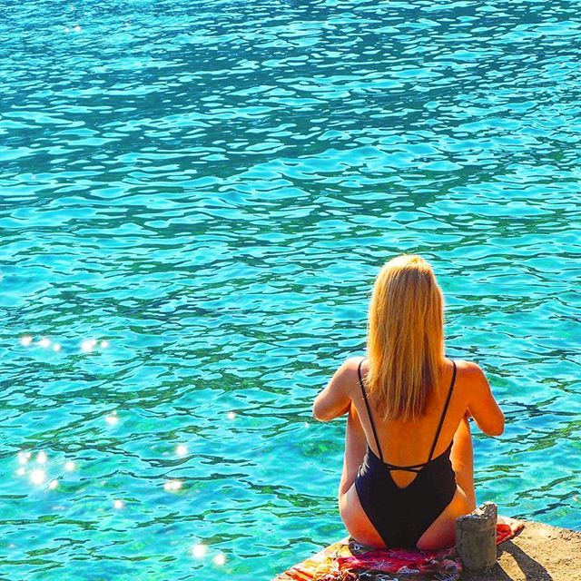 All I can think about today is a crystal clear water... #blue #blueocean #crystalclear #watercolour #summer #paradise #colours #hot #chill #beautiful #wanderlust #croatia #mljet #travelgirl #polishgirl #aroundtheworld #travelblog #swimsuit #travelling #travellife #travelphoto #traveler #travelgirl #fitgirl #fitnessmotivation #fitnessfreak #sun #sea #podróże #perfectmoment