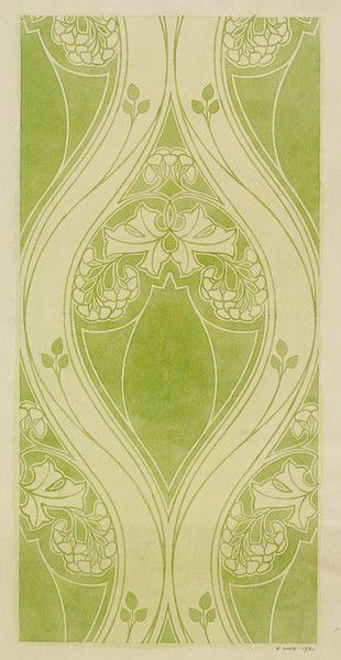 Portion of a design for a wallpaper   Lindsay Phillips, Wallpaper ...