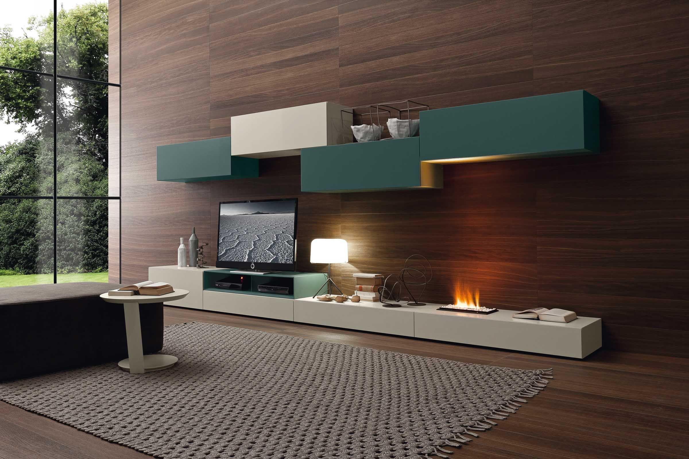 Soggiorno componibile moderno PR26 (With images) | Wall ...