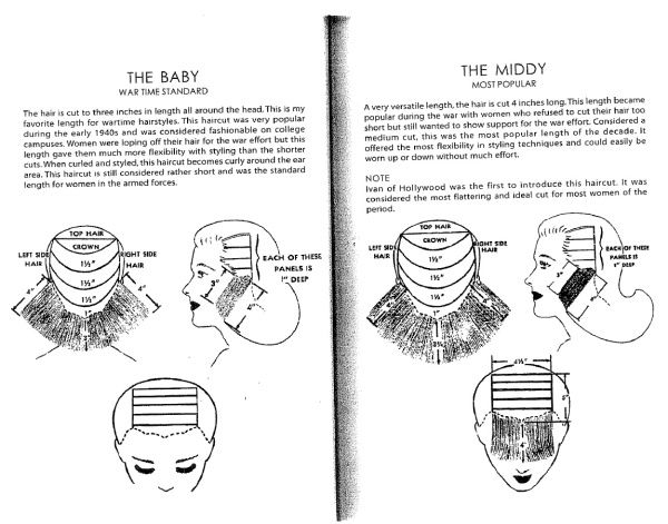 How To Get A Good Middy Haircut Or Baby Or Any You Wish Imitation Of Vintage Life Vintage Hairstyles Tutorial Vintage Hairstyles Baby Haircut