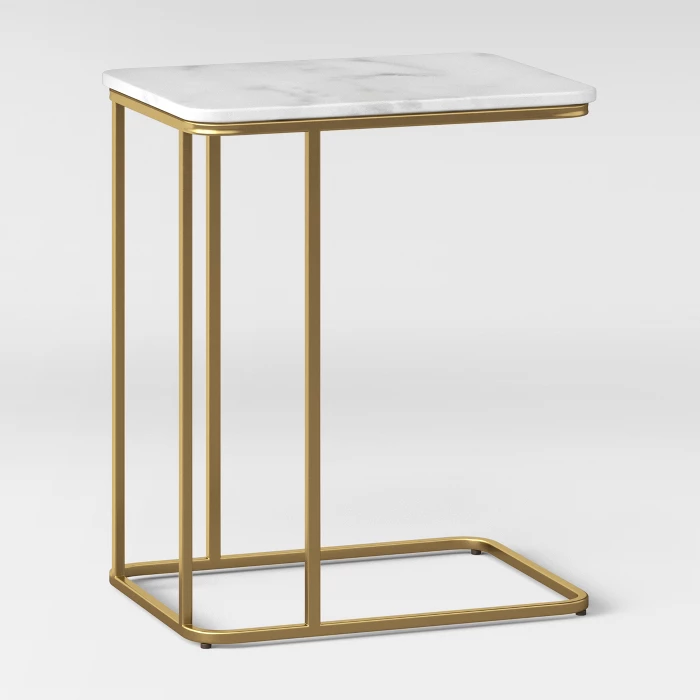 Highfield C Table White Marble Project 62 C Table Simple