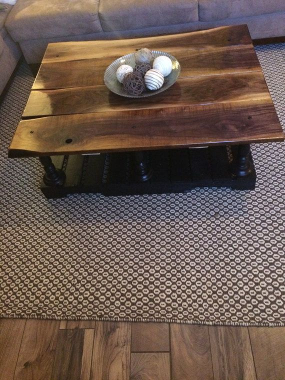 Rustic Pottery Barn Style Coffee Table Made To By ModernlyRustic - Pottery barn style coffee table