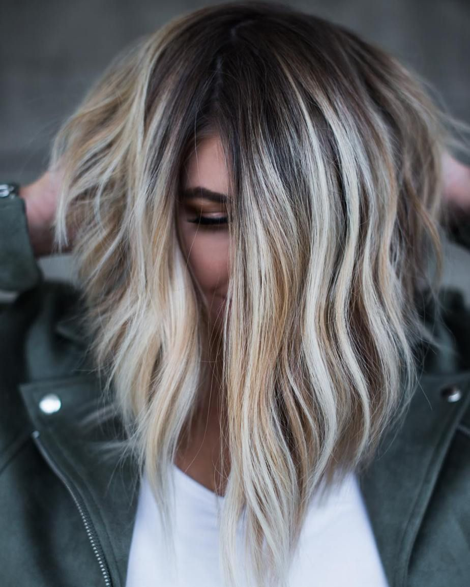 Flattering Balayage Hair Color Ideas for   Χρώμα μαλλιων
