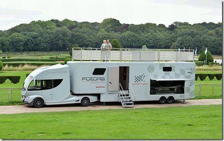 Futuria Luxury Caravan Roughing It Pinterest Luxury
