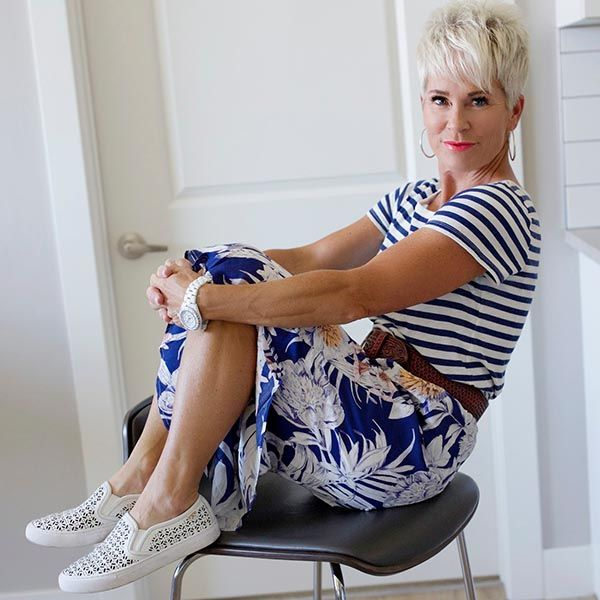 Chic over 50 - a style interview with Shauna